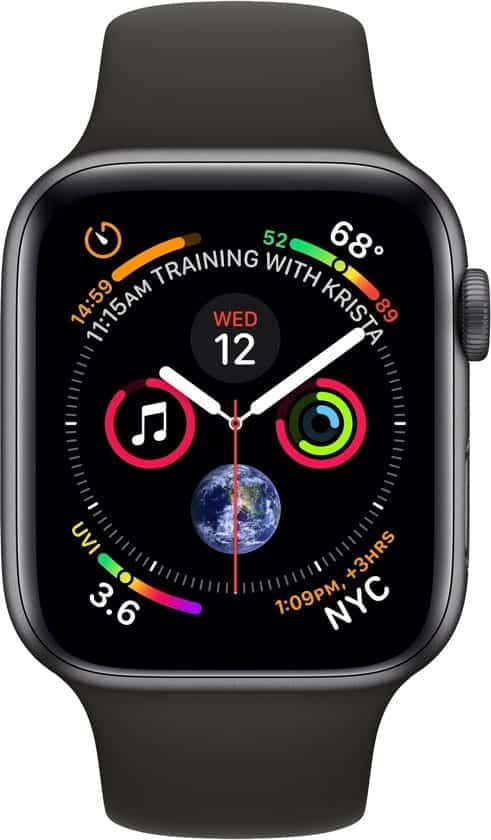 Apple watch 4 voorkant