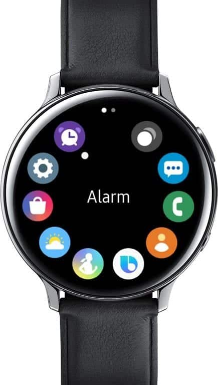 Samsung galaxy Watch active 2 appliacties