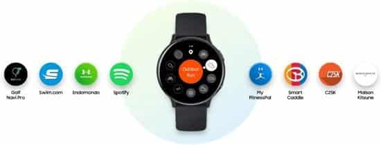 Samsung galaxy watch active 2 smartwatch opties - bestgekocht