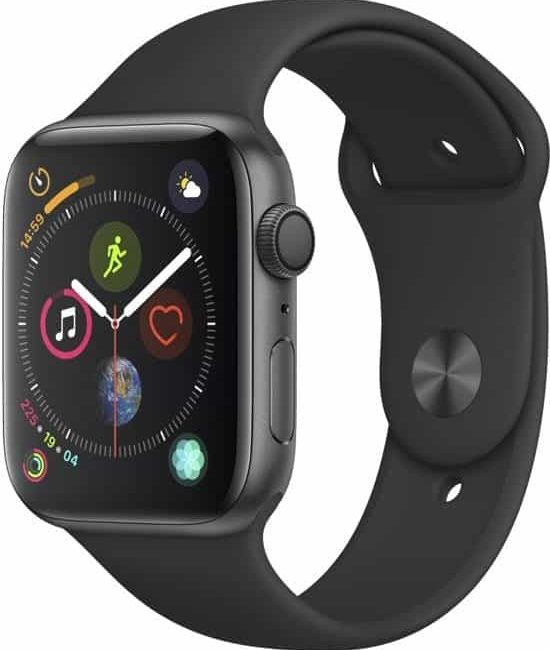 Apple watch 4 zijkant